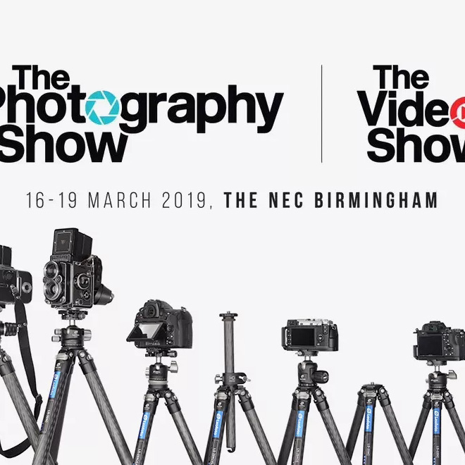UK NEC Birmingham The Photography show 2019